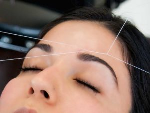 eyebrow threading at superb eyebrows in hyde tameside